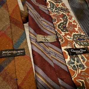 Yves Saint Laurent Accessories - All 6!Authentic Ties❣